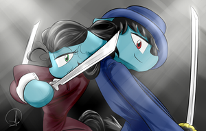 Mare and GentleColt by PhuocThienCreation