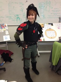 HICCUP COSPLAY by CatnipPacket