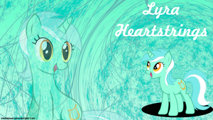 Lyra Heartstrings Wallpaper by CrazedWD