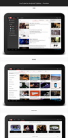 YouTube for Android Tablets - Preview by Febernovo