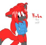 Viola The Two-Tailed Wolf by Sonicfan1345