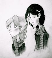 Lily and Severus by NeverlandForever
