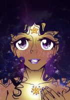 Galaxy Girl by JammyScribbler