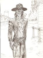 Undead Gunfighter by Crash2014