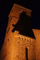 A church by night by Nicothelord