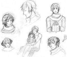 Russia Sketches 3 by Chiyoyo