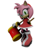 Amy Rose by Mike9711