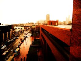 on top of the red brick world by Bigcandy