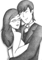 Mr. and Mrs. Sloane by Quiverwing