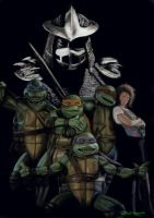 Teenage Mutant Ninja Turtles by artelo