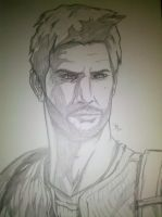 Nathan Drake From Uncharted by fenrirthomasb