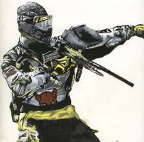 Paintball player by Stefan555