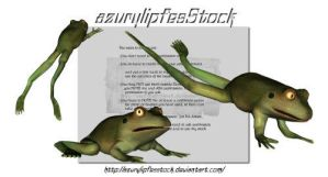 3D object - frogs by AzurylipfesStock