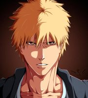 Bleach [[537]]: Ichigo Kurasaki by honchkrow14