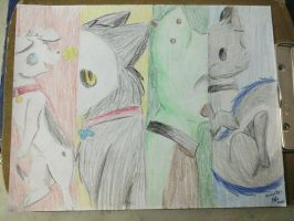 Males 1 Colors by fangs211
