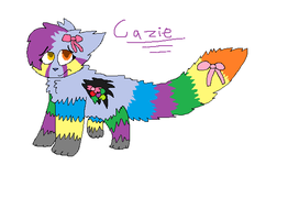 Cazie the pinata by firstarfan20