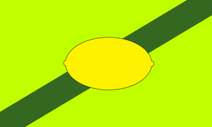 Flag of the Earldom of Lemongrab by The-Artist-64