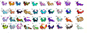 40 ADOPTS (16/40 OPEN) by AwesomePaw