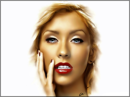 Christina Aguilera by SHAP00PI