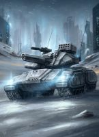 Battle Tank by LeonovichDmitriy
