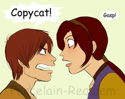 COPYCAT by Porcelain-Requiem