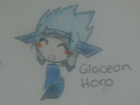 Glaceon Horohoro by iSketchy