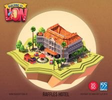 Building the Lion - Raffles Hotel by nigelhimself