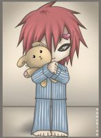 +Bedtime Gaara+ by sanchine