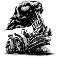 Tractor Pulling by nitrouzzz