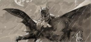 Jim Lee Batman Graffiti by AndzeJSteweiner