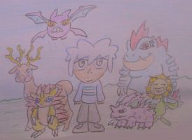 Nuzlocke Team 88 by AoiSora19S