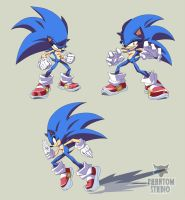 Bunch of Sonics by WarlockMaster