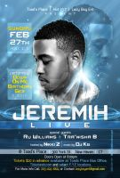 Jeremih Live Flyer 2 by AnotherBcreation