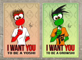 The Yoshi/Growshi Pest by McTaylis