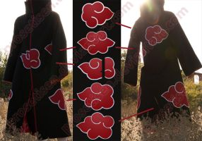 Akatsuki costume coat by proSetisen