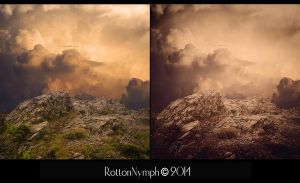 The Ridge Premade Background by Rotton-Nymph