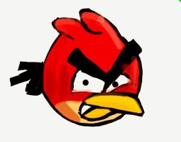 Angry Bird by Kristina-Henderson