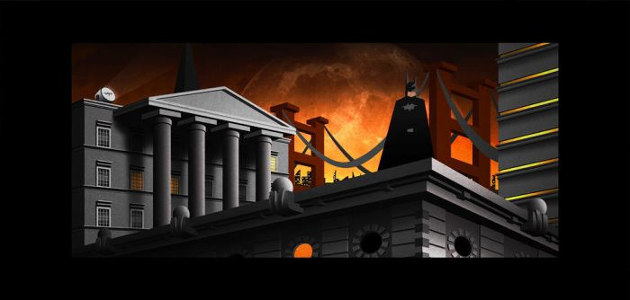 Batman: Abstraction of Justice by Ladonite
