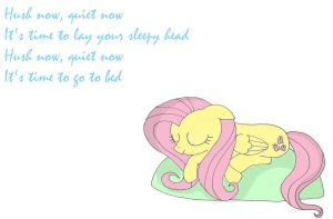 Fluttershy's lullaby by HairyGirl
