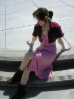 Advent Children Aerith by Liquidfire3