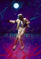 michael jackson shining star by OscarCelestini
