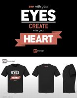 Create with your heart... (Black) by bilmaw