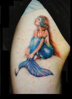 Mermaid-Tattoo by Faereality