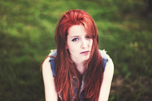 red hair by kubalaphotography