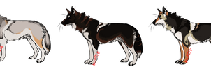 Wolf Point adoptables! closed by Psitt