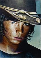 Carl Grimes by DavidDeb