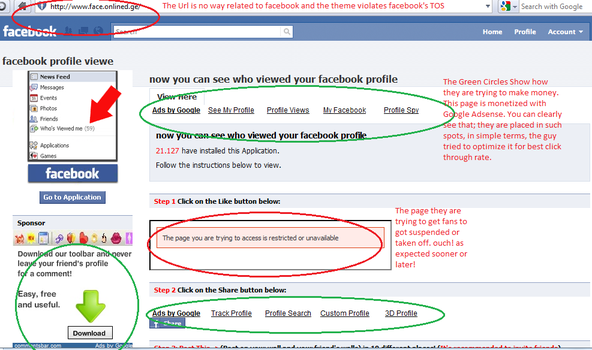 hass associates, QA: How to avoid Facebook scams? by lislecann