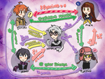 +Ao Oni+ Character Diagram by foxy-kyuubi