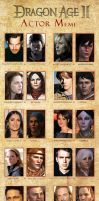 Dragon Age 2 Actors Meme by crisurdiales