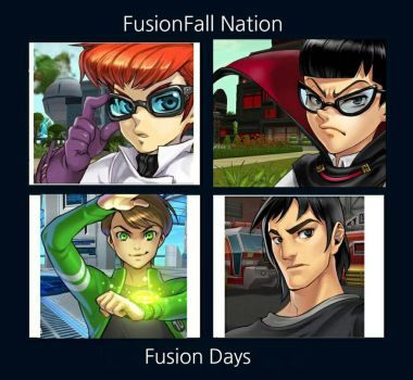 FusionFall Nation Fusion Days Album Cover by AliceTheGamer